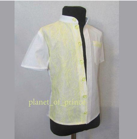 Нарядная рубашка эксклюзив для мальчика 4-5 лет