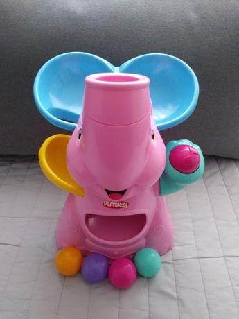 Słoń fontanna piłek Playskool