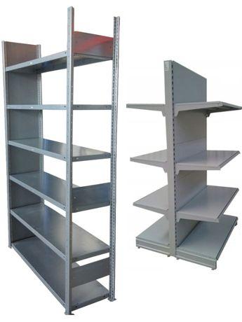Regały sklepowe i magazynowe, nowe i używane do sklepu, magazynu
