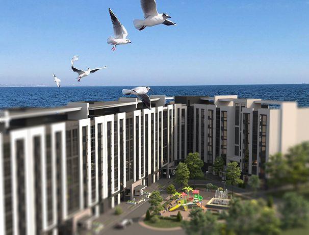 Квартира-студия в двух шагах от побережья Черного моря Рассрочка