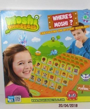 moshi monsters wheres moshi - gdzie jest moshi