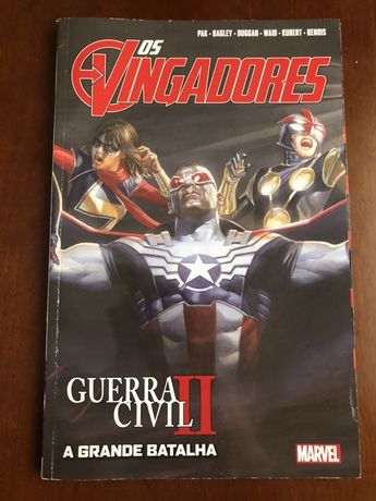 Os Vingadores Guerra Civil 2 (novo)