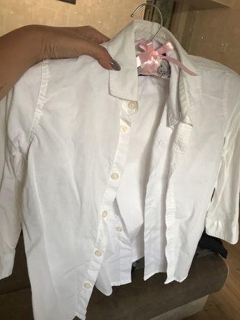 Детские рубашки на мальчика 5-6 лет