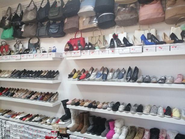 Obuwie damskie męskie dziecięce akcesoria do butów likwidacja sklepu