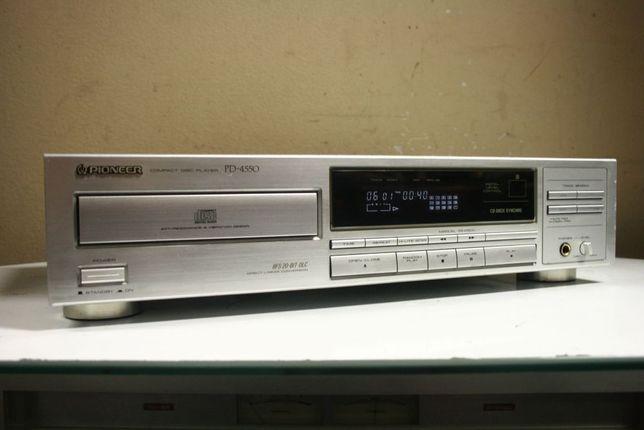 Srebrny rarytas! Odtwarzacz CD PIONEER PD-4550 do Vintage/ Wysyłka!