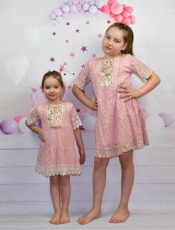 WYPRZEDAŻ Sukienki BOHO dla dziewczynki