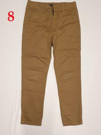 Eleganckie spodnie materiałowe beż   Marka:Reserved   Rozmiar: 134