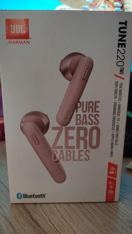 Наушники JBL Tune 220 tws pink + кейс!!!