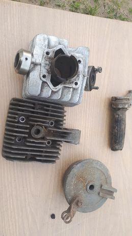 Romet motorynka cylinder głowica komplet