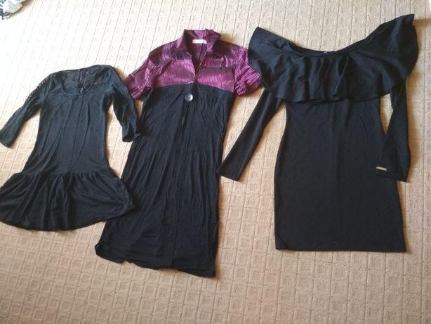 Чёрное платье Размер 46-48 ARGO