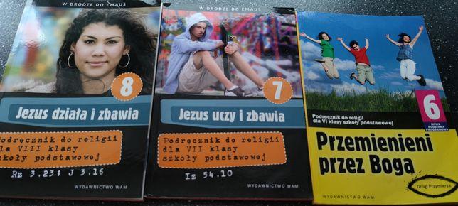 Książki do religii klasa 6 i 8 klasa