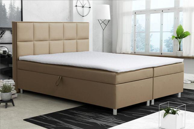Łóżko tapicerowane DALIA! 2xPojemniki! OKAZJA! Topper! Dostawa GRATIS!