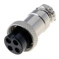 Роз'єм G16, 4-pin, MIC324F (4 контакти, 125V 10A IP55) 10шт.