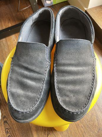 Sapato Geox 42 camurça Azul