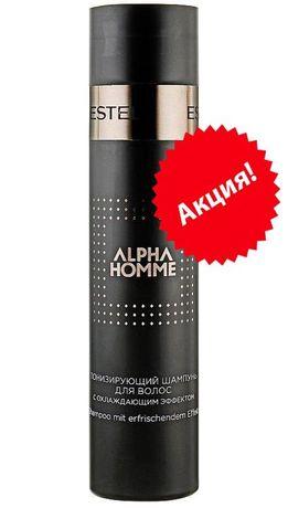 Estel ProfessionalAlpha Homme Тонизирующий шампунь для волос с охлажда