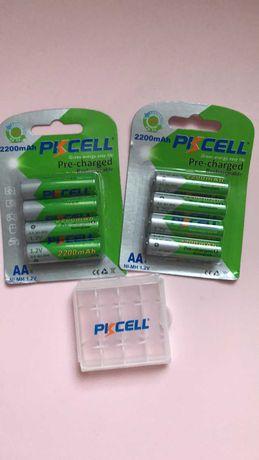 аккумулятор PKCELL AA реальная емкость 2200 mAh Ni-MH 1.2V