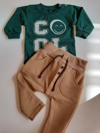 Spodnie Czarek cappuccino Mrofi rozmiar 98