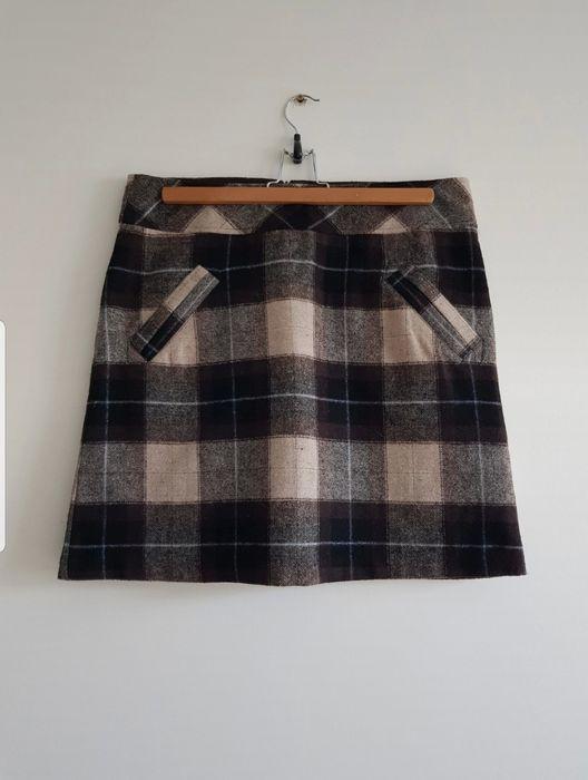 Wełniana spódnica mini 40 L w kształcie A Szczecin - image 1