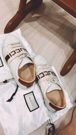Gucci оригинал с чехлами 36 размер