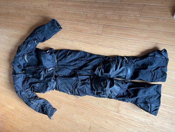 Kombinezon motocyklowy Motona, kurtka i spodnie rozmiar XL + drobiazgi