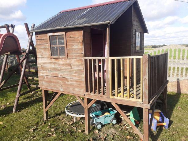 Domek drewniany dla dzieci 2,4×1,8 wys 2,5 m
