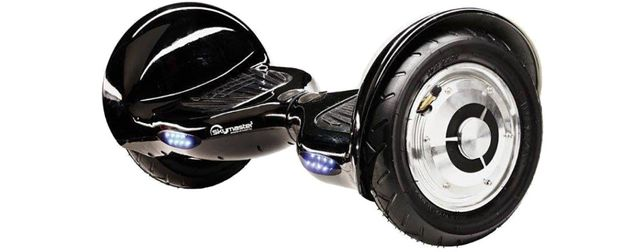 Deskorolka elektryczna SKYMASTER 2 Wheels 10 Czarna