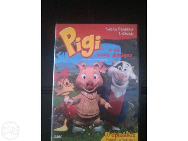 DVD duplo Pigi e os seus amigos