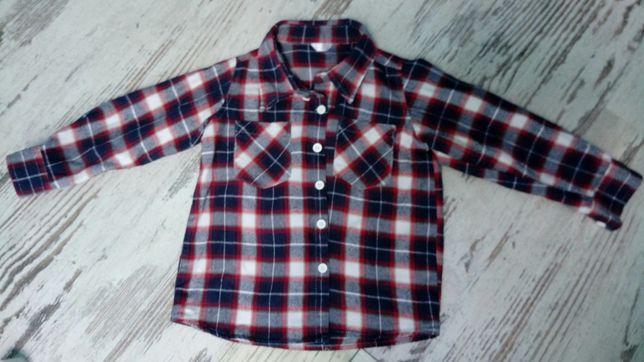 Koszula krata r. 92 cm na 2 lata