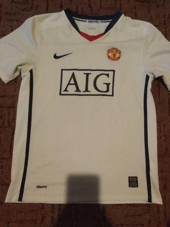 Manchester United biała koszulka 2010