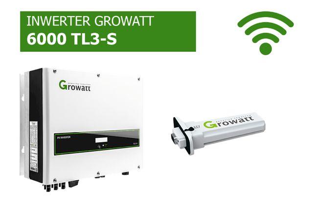 Falownik Growatt 6000 TL3-S WiFi Inwerter cena brutto