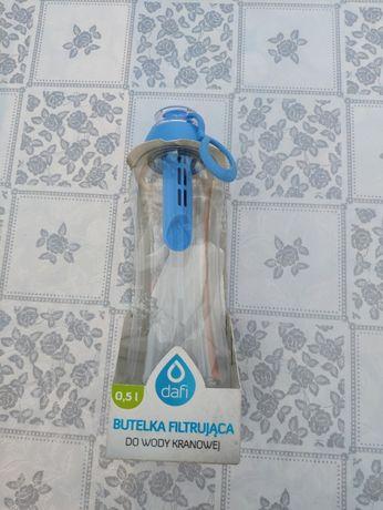 Ekologiczna butelka filtrująca Dafi 0,5l niebieska