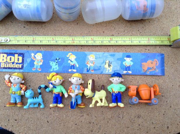 BOB o construtor bonecos 2005 - estilo ovos Kinder coleção completa 6€