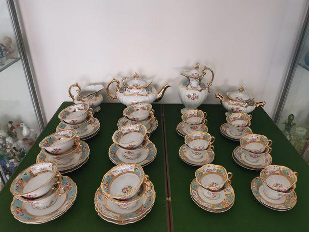 Serviço de chá e café em porcelana Vista Alegre