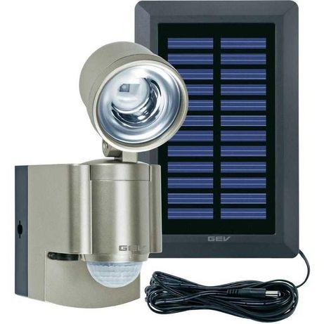 Lampa solarna z czujnikiem ruchu 1x3W, 6000 K