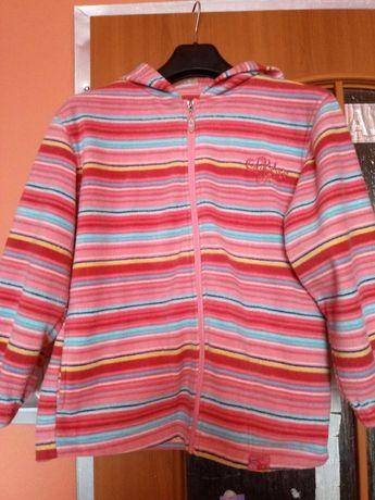 Bluza z Kapturem dla dziewczynki 134\140