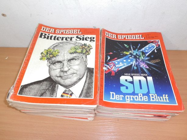 stare czasopisma gazety DER SPIEGEL 1079-91