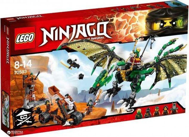 Lego (Лего) Ninjago Зелений енерджі дракон Лойда 70593