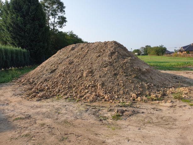 Grunt z wykopu glina z piachem