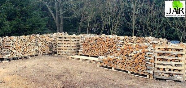 Drewno kominkowe -brzoza oraz inne- dostawa do domu
