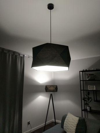 2 lampy komplet salon nowoczesne czarne