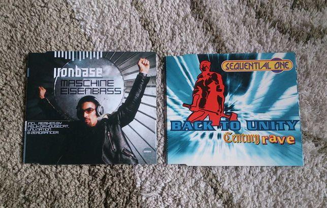 CD maxi single: Ironbase, Sequential One (okładki)