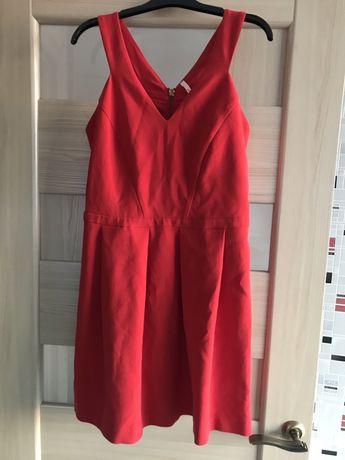 Красное платье 46 размера