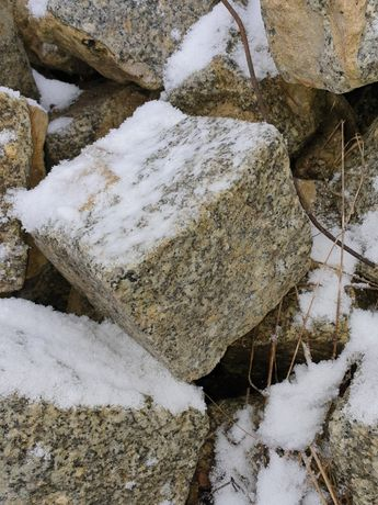 Kamień granitowy, drogowy, kostka granitowa brukowa, starobruk