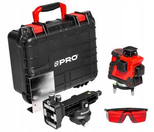 PRO NIWELATOR LASEROWY 3x360 LK-360.3D laser 3 płaszczyznowy