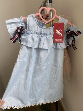 Новое Платье из Антошки 98 р silversun