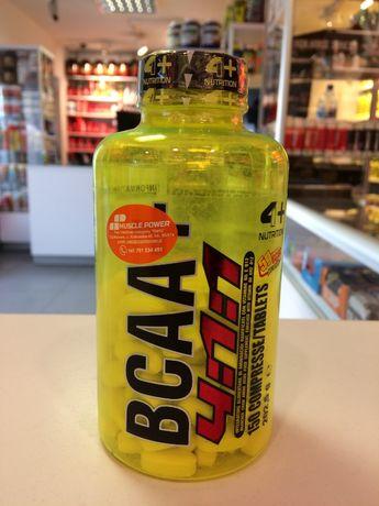 4+ NUTRITION BCAA+ 4:1:1 - 150tabs aminokwasy regeneracja Muscle Power