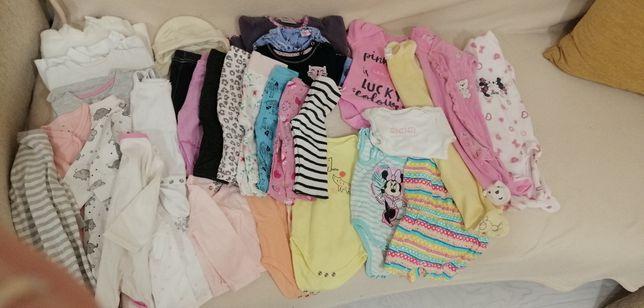 Ubranka dla dziewczynki rozmiar 62