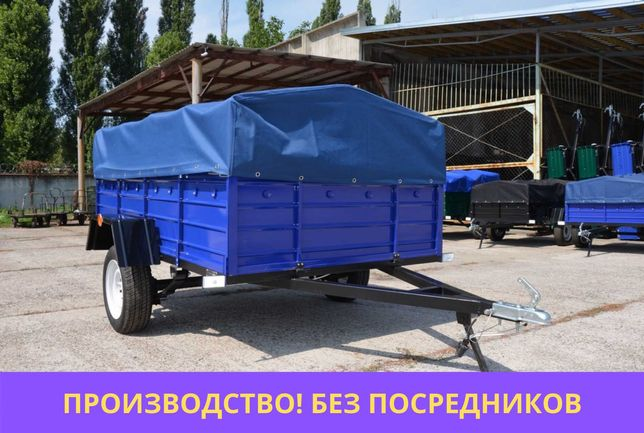 УСИЛЕННЫЙ ПРИЦЕП ЛЕГКОВОЙ 230/130/50 от производителя без посредников