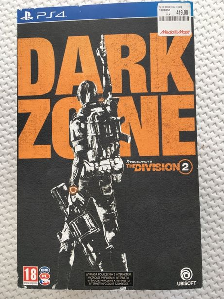 Nowa The Division 2 Dark Zone - Playstation 4 - PS4 Pro