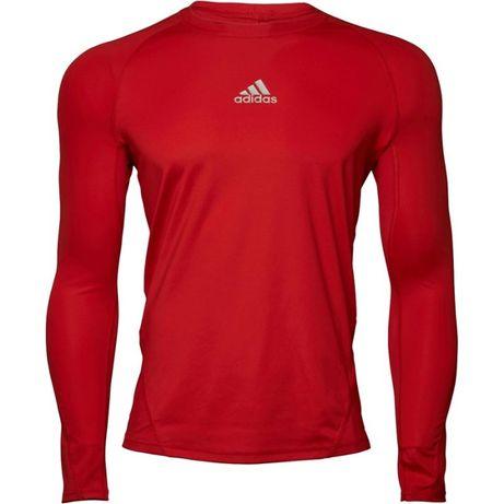 Koszulka termowaktywna Adidas czerwona Termo oddychająca Climacool